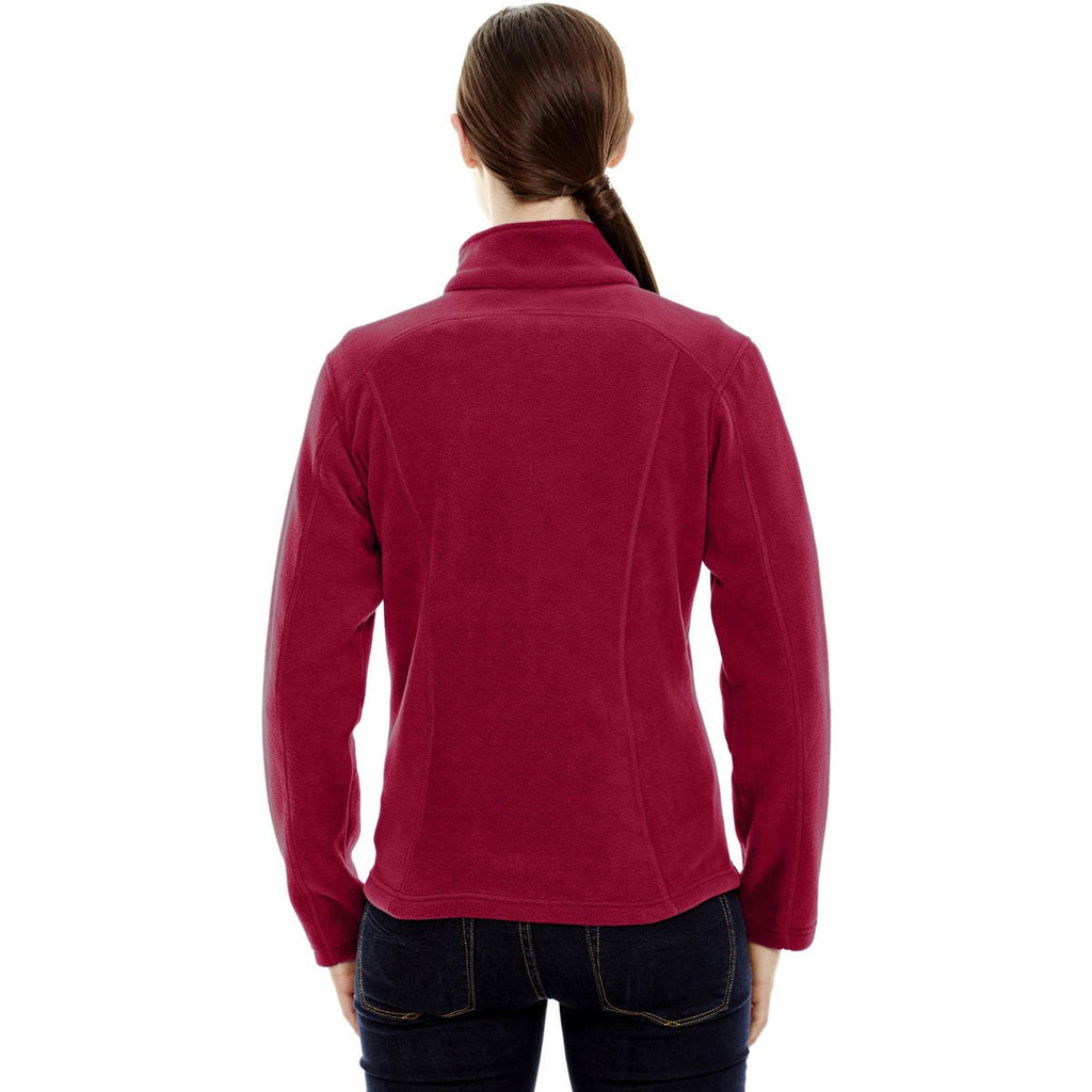 North End Women's Classic Red Voyage Fleece Jacket