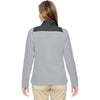North End Women's Silver Excursion Trail Fabric-Block Jacket