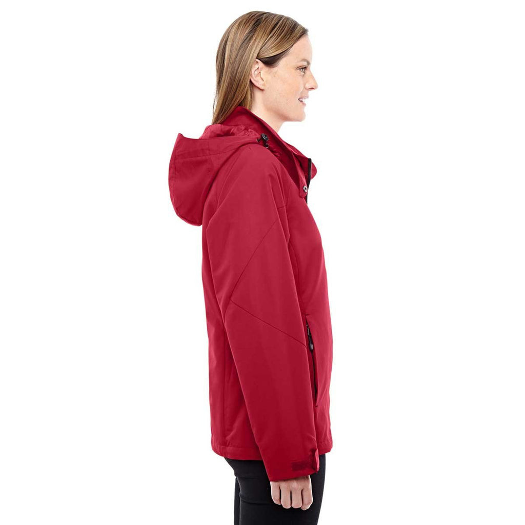 North End Women's Classic Red/Black Insight Interactive Shell Jacket