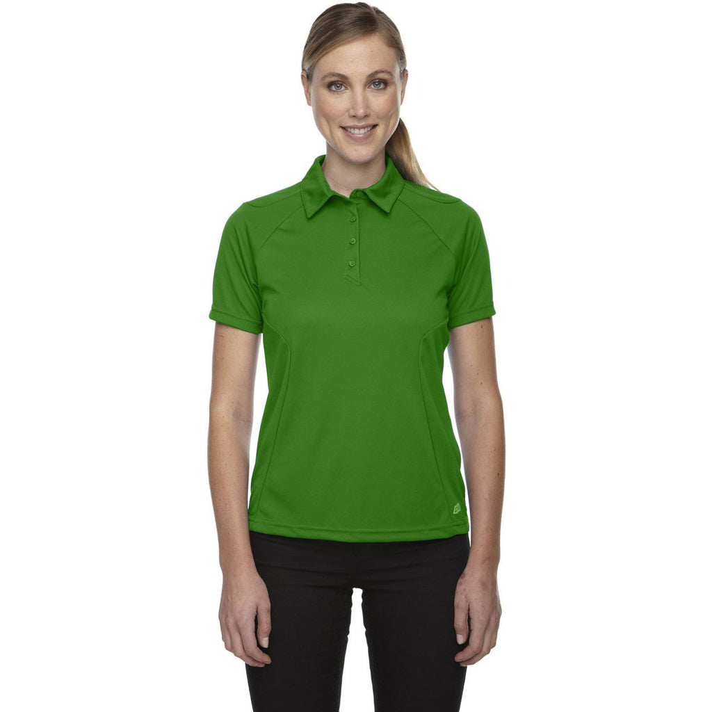 North End Women's Valley Green Dolomite UTK Performance Polo