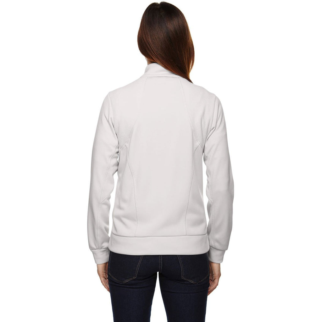 North End Women's Crystal Quartz Evoke Bonded Fleece Jacket