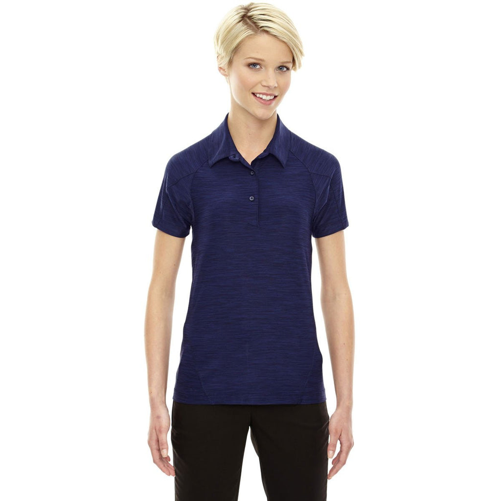 North End Women's Night Performance Stretch Polo