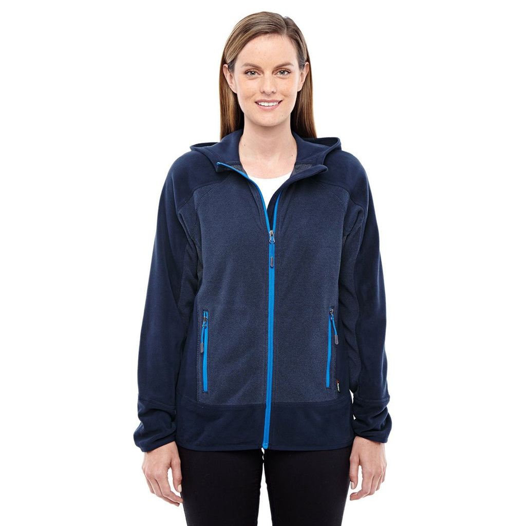 North End Women's Night/Olympic Blue Polartec Active Jacket