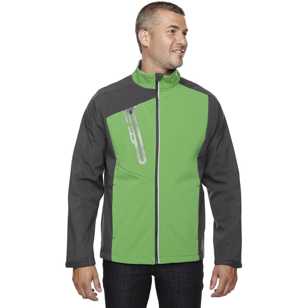 North End Men's Valley Green Terrain Colorblock with Embossed Print