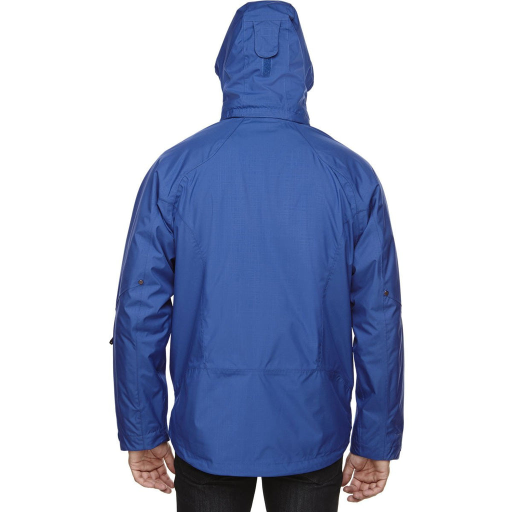 North End Men's Nautical-Blue Caprice 3-In-1 Jacket with Soft Shell Liner