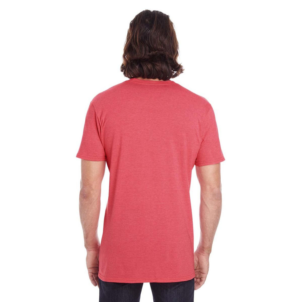 Anvil Men's Coral Lightweight T-Shirt