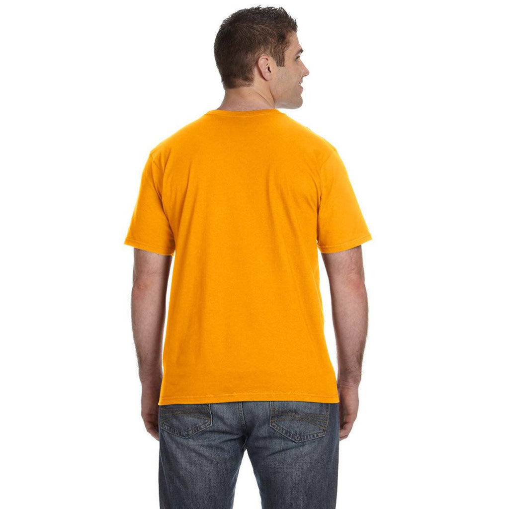Anvil Men's Gold Lightweight T-Shirt