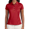 adidas-ladies-red-polo-solid