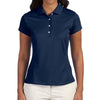 adidas-ladies-navy-polo-solid