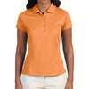 adidas-ladies-orange-polo-solid