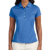 adidas-ladies-blue-polo-solid