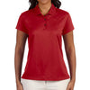 adidas-ladies-red-diagonal-polo