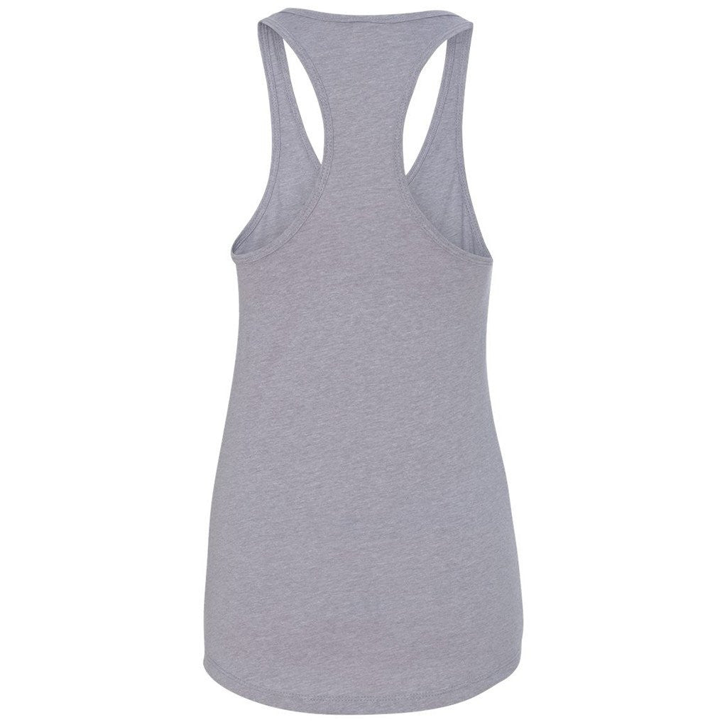 Next Level Women's Heather Gray Ideal Racerback Tank