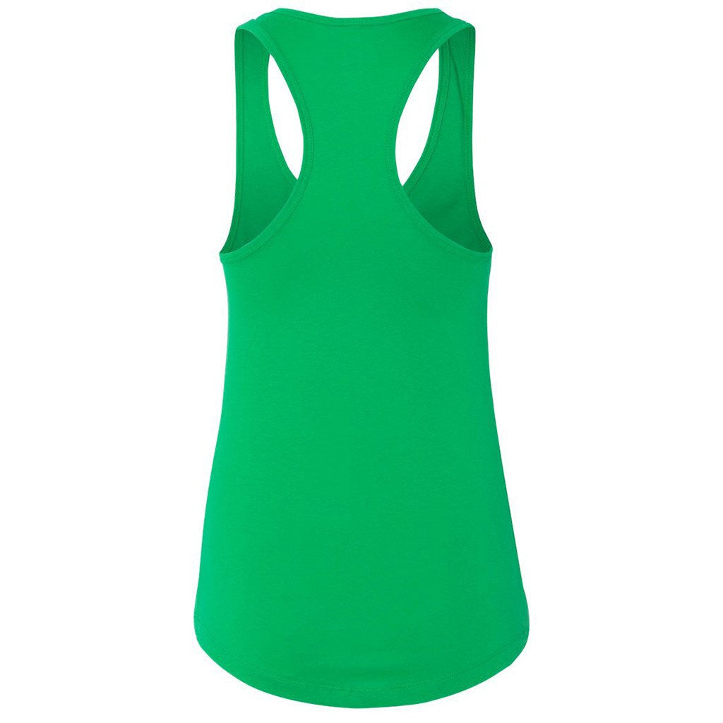 Next Level Women's Kelly Green Ideal Racerback Tank