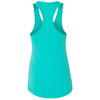 Next Level Women's Tahiti Blue Ideal Racerback Tank
