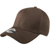 new-era-brown-stretch-cap