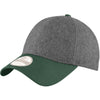new-era-green-melton-cap