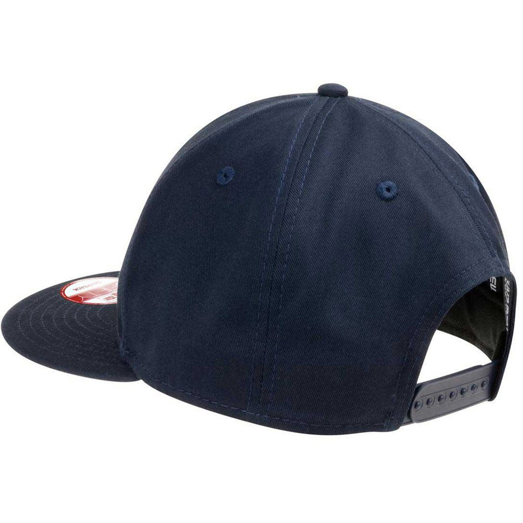 New Era 9FIFTY Deep Navy Flat Bill Snapback Cap