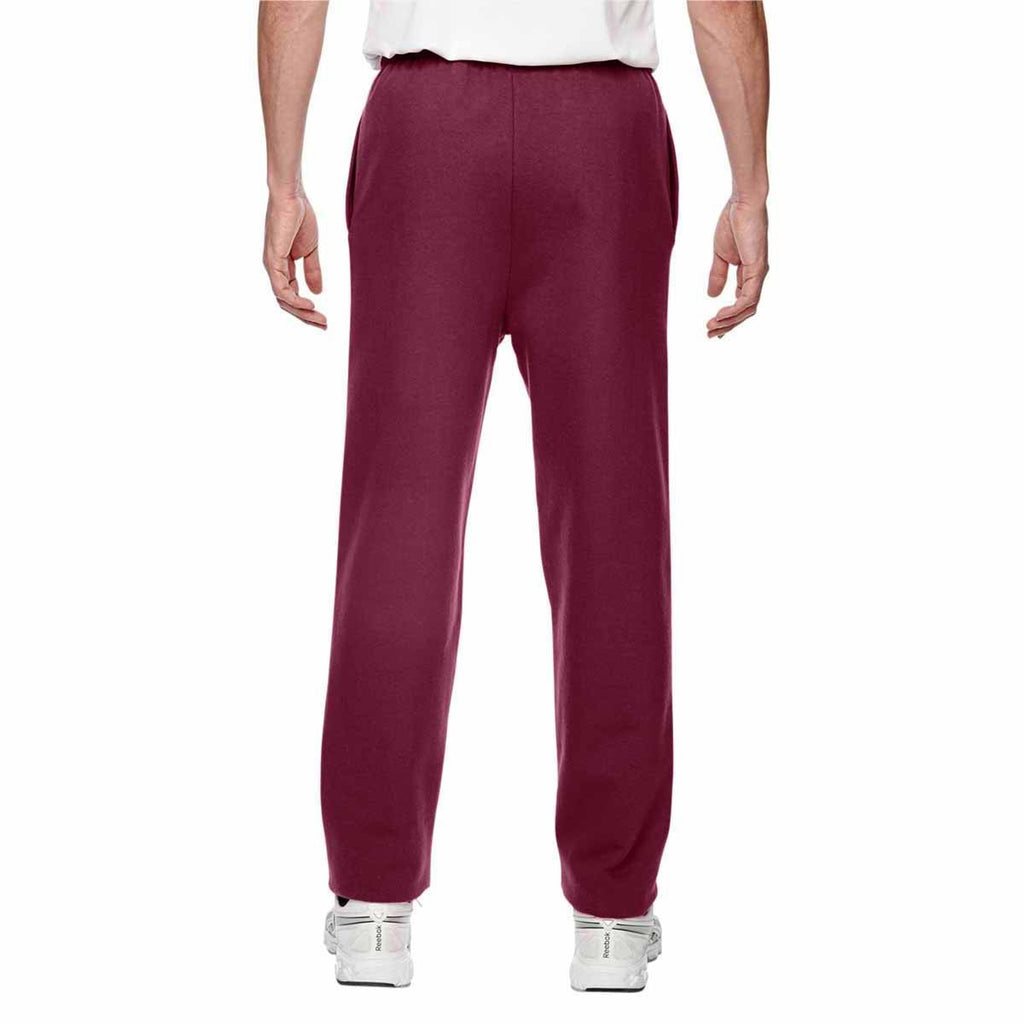 Champion Men's Sport Maroon for Team 365 Cotton Max 9.7-Ounce Fleece Pant