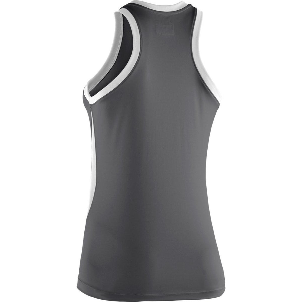 Under Armour Women's Graphite Recruit Sleeveless T-Shirt