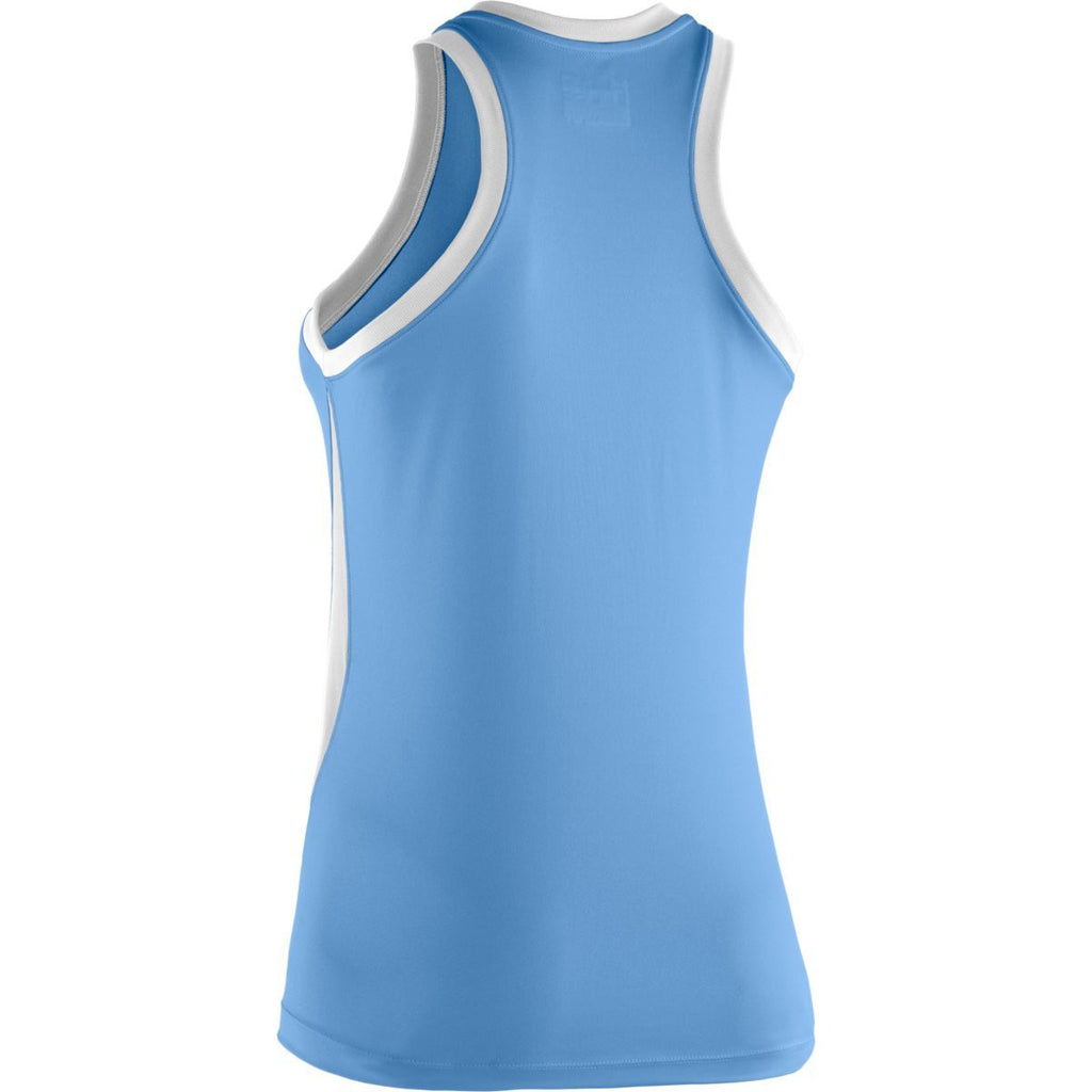 Under Armour Women's Carolina Blue Recruit Sleeveless T-Shirt