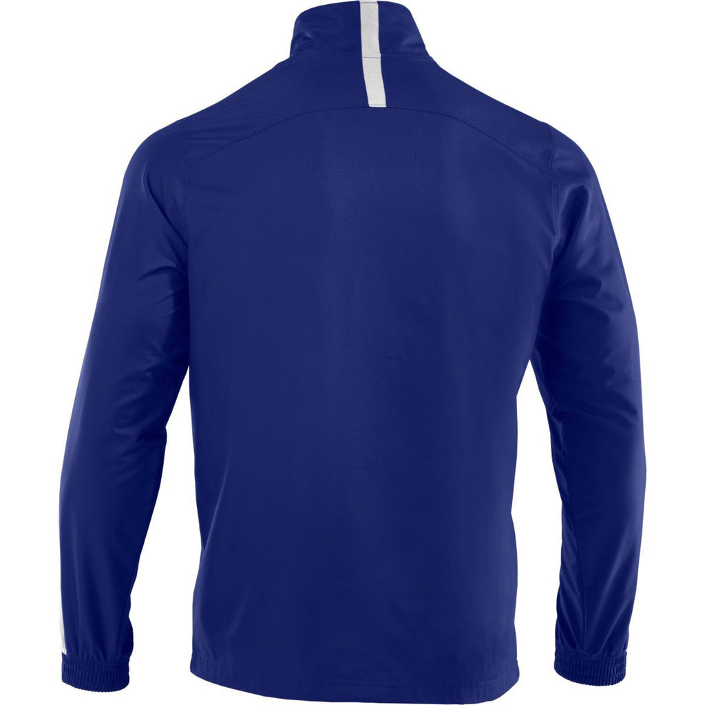 Under Armour Men's Royal/White Essential Woven Jacket