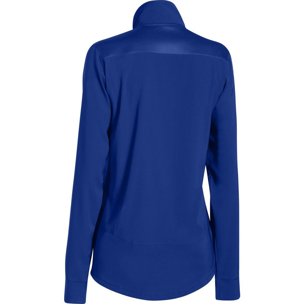 Under Armour Women's Royal Pre-Game Woven Jacket