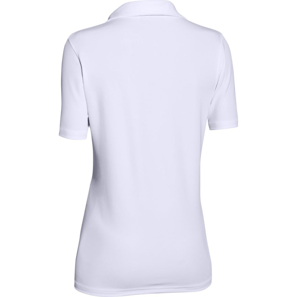 Under Armour Corporate Women's White Performance Polo