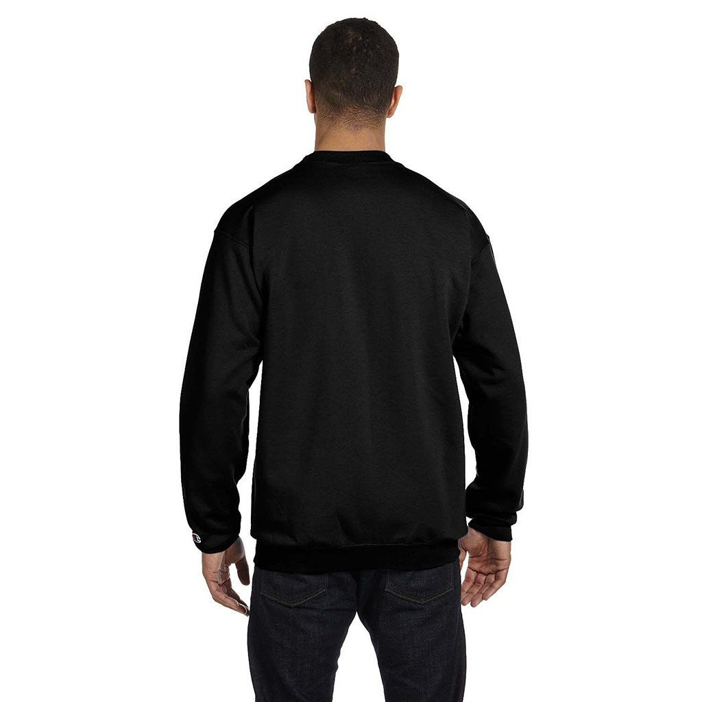 Champion Men's Black Crewneck Sweatshirt