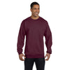 Champion Men's Maroon Crewneck Sweatshirt
