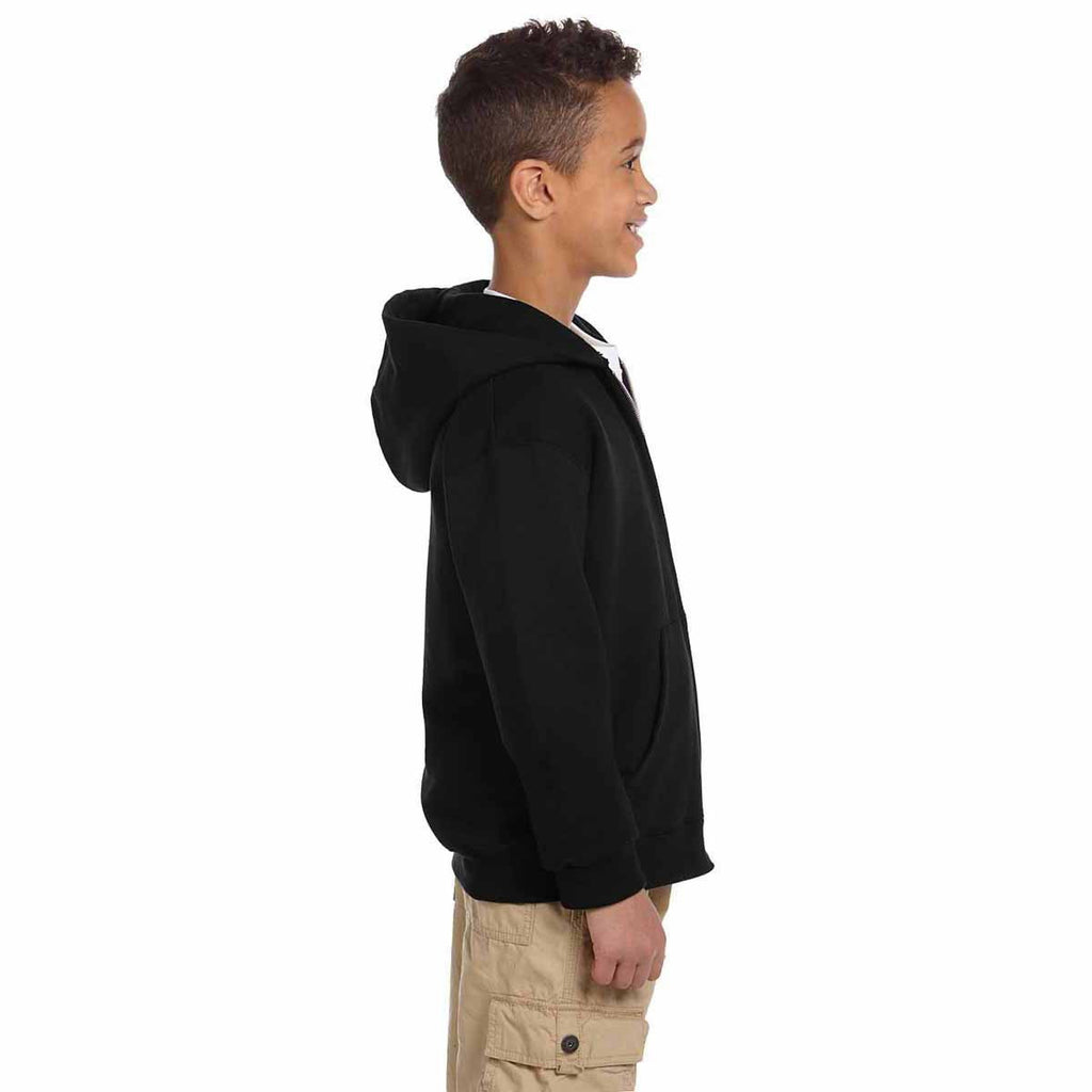 Champion Youth Black Eco 9-Ounce Full-Zip Hood
