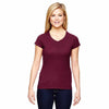 t050-champion-women-burgundy-t-shirt