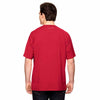 Champion Men's Sport Red Vapor Cotton Short-Sleeve T-Shirt