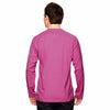 Champion Men's Sport Charity Pink Vapor Cotton Long-Sleeve T-Shirt