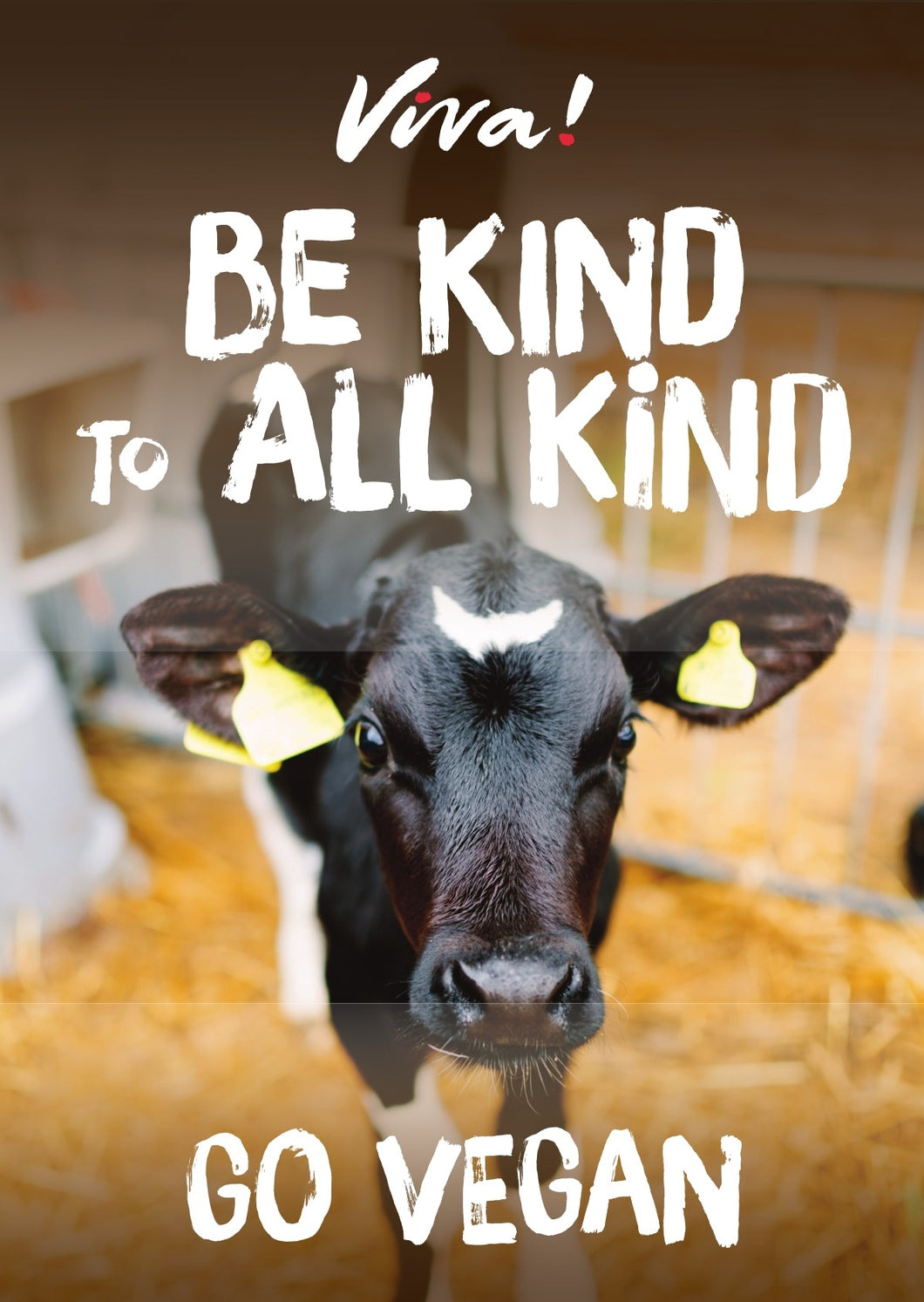Viva! Be Kind to all Kind Calf Poster