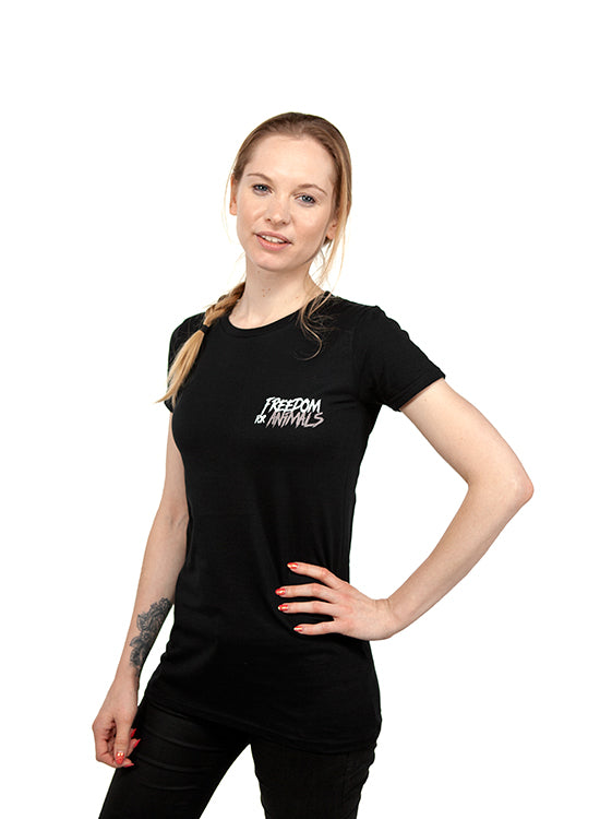 Freedom for Animals Women's Tee