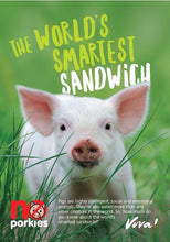 The World's Smartest Sandwich Leaflets x50