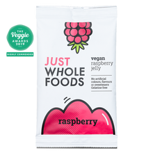 Just Wholefoods Vegan Jelly Crystals - Raspberry 85g