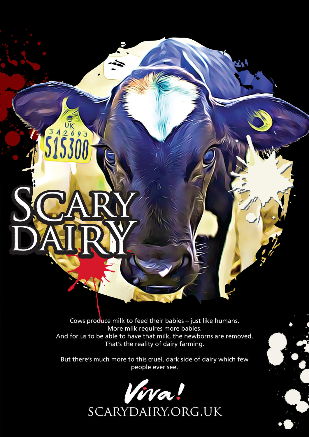 Scary Dairy leaflets x 50