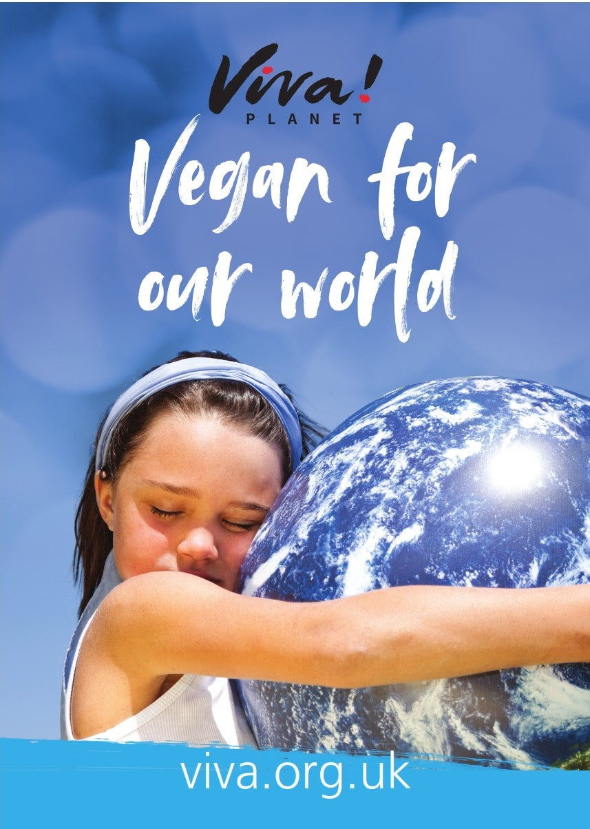 Viva! Vegan for Our World Poster