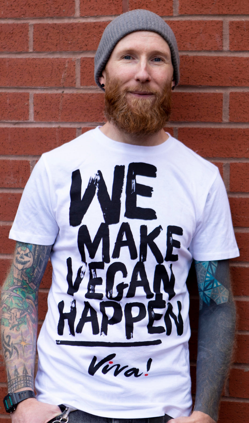 We Make Vegan Happen Men's Tee
