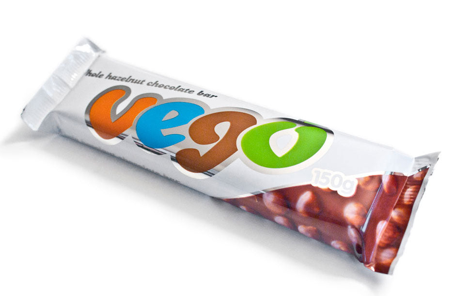 Vego Jumbo Whole Hazelnut Chocolate Bar