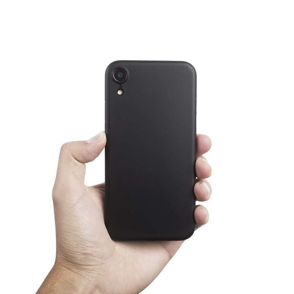 Supertunt iPhone XR skal 6,1  - Solid black