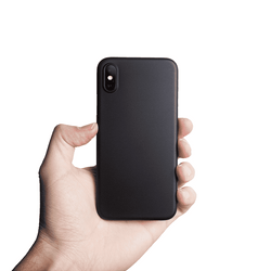 Supertunt iPhone XS skal 5,8 - Solid black
