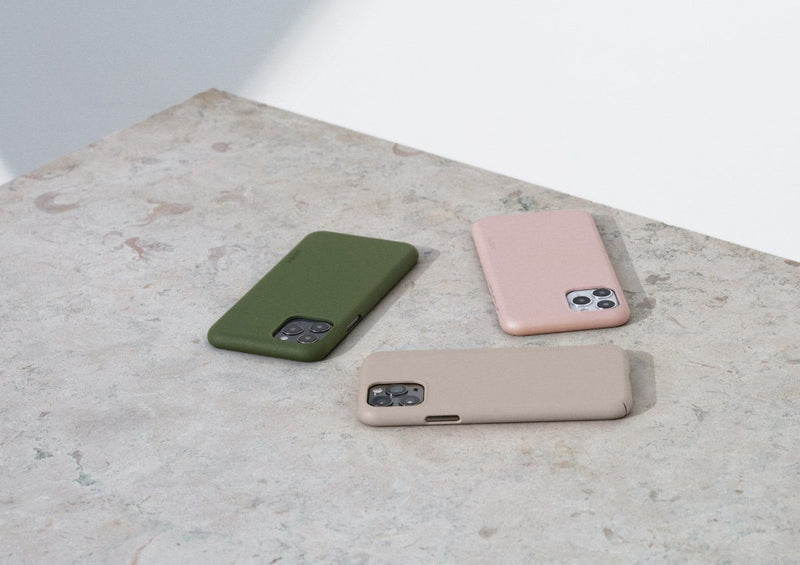 Nudient - Tunt iPhone X Skal V3 - Clay Beige