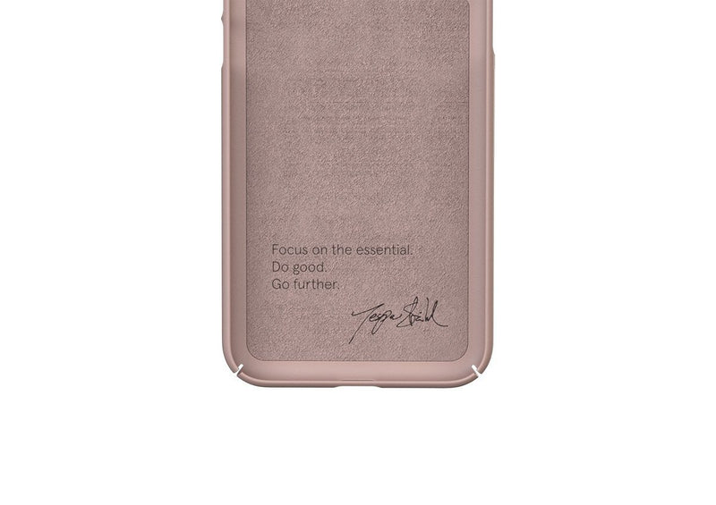 Nudient - Tunt iPhone XS Max Skal V3 - Dusty Pink