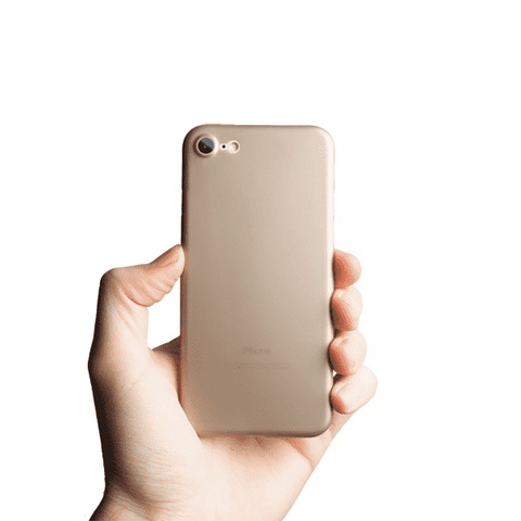 Supertunt iPhone 7 skal - Gold