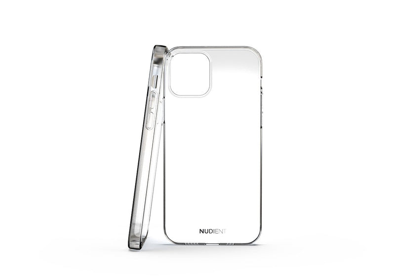 Nudient - Tunt glansigt iPhone 12 Pro skal - 100% transparent