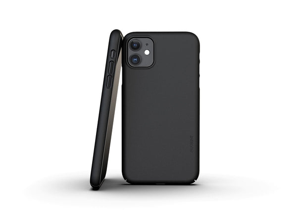 Nudient - Tunt iPhone 11 Skal V3 - Ink Black