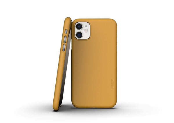 Nudient - Tunt iPhone 11 Skal V3 - Saffron Yellow
